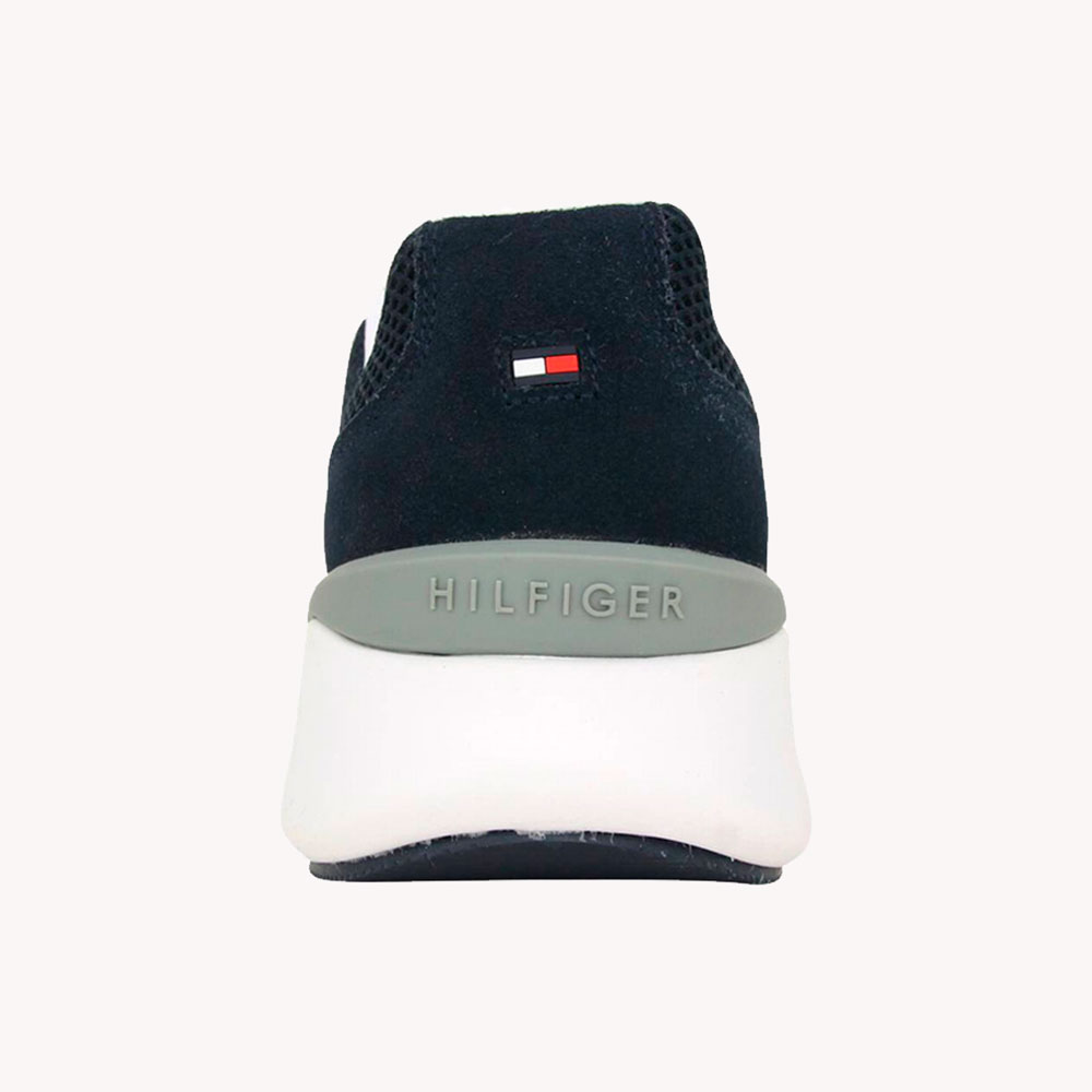 Tenis   Tommy Hilfiger® Lightweight Corporate Th Runner Azul