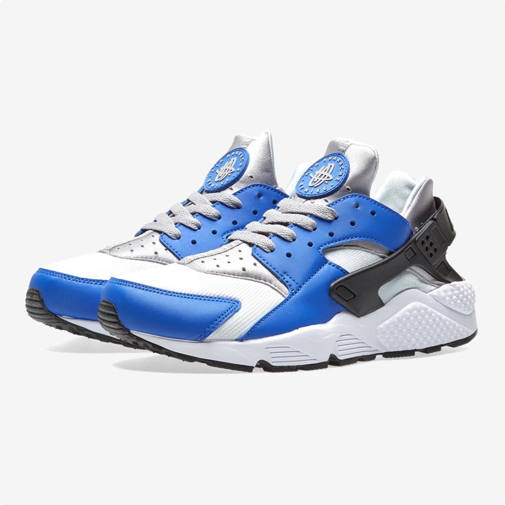Tenis | Nike® Air Huarache Run Blanco- azul
