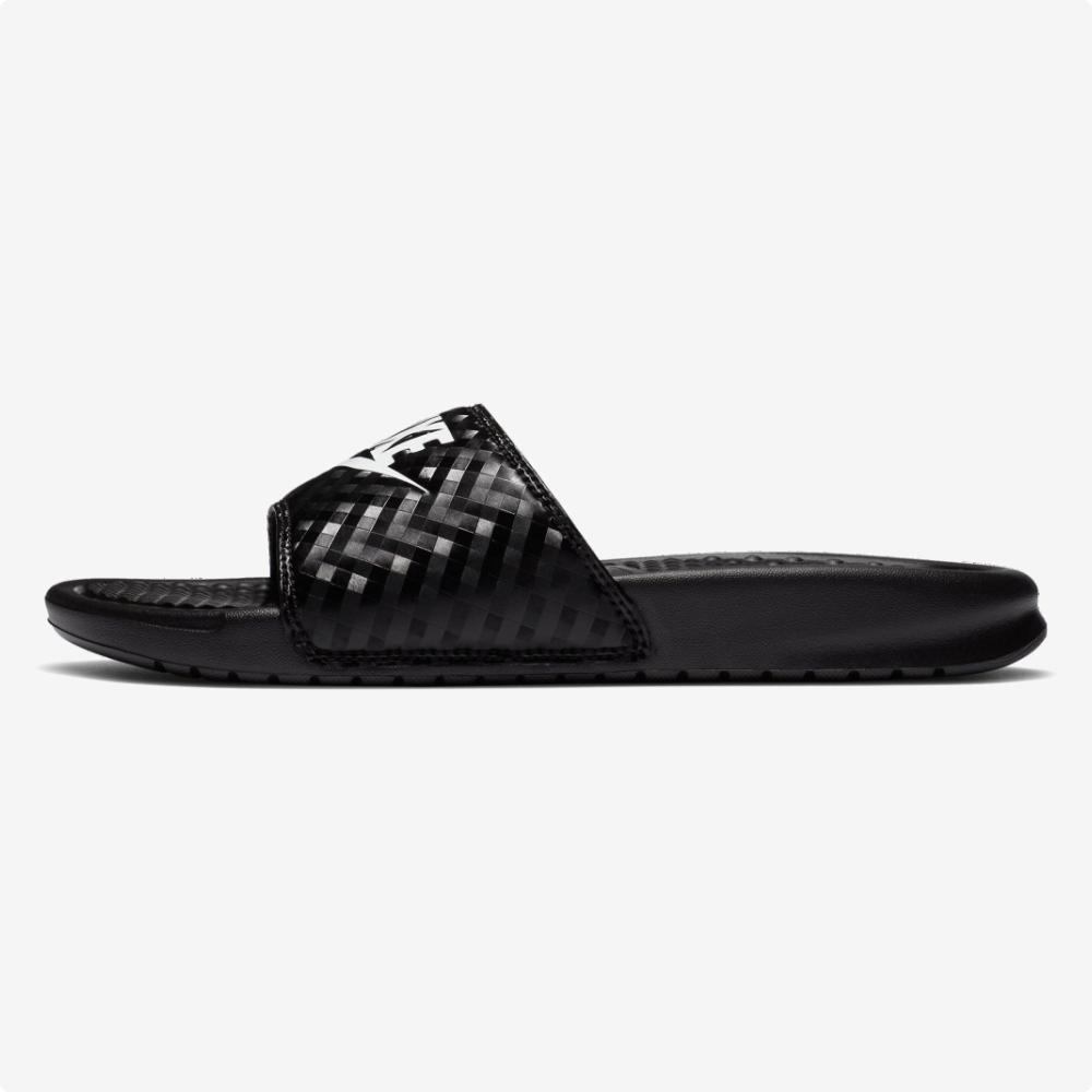 Sandalias | Nike® WMNS Benassi JDI Negras- blanco