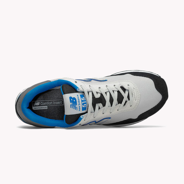 Tenis   New Balance® Core 515 Blancos - azul . negro