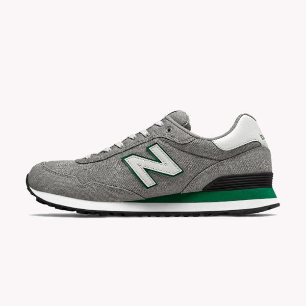 Tenis   New Balance® Core 515 Gris - verde