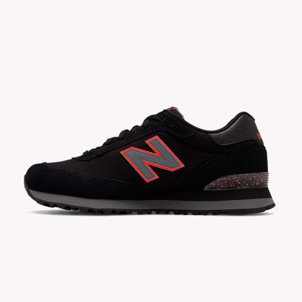 Tenis | New Balance® Core 515 Negros - naranjas