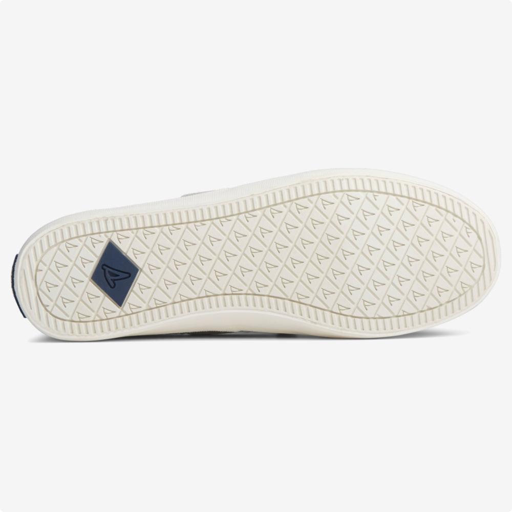 Tenis Casuales | Sperry® Crest Boat Seersucker Azul- blanco
