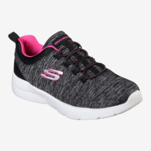 Tenis   Skechers® WMNS Dynamight 2.0 Quick Turn Negros- fucsia