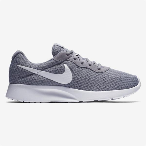 Tenis   Nike® MNS Tanjun Gris- blanco