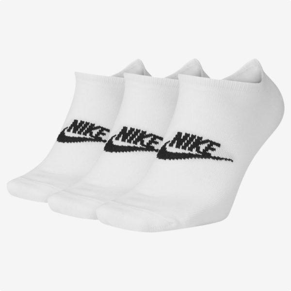 Medias Tobilleras | Nike® Paquete x 3 Blancas