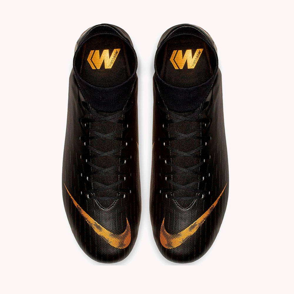 Guayos | Nike® Superfly 6 Academy FG/MG Negro- gold