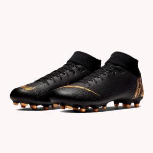 Guayos | Nike® Superfly 6 Academy FG/MG Negro- gold