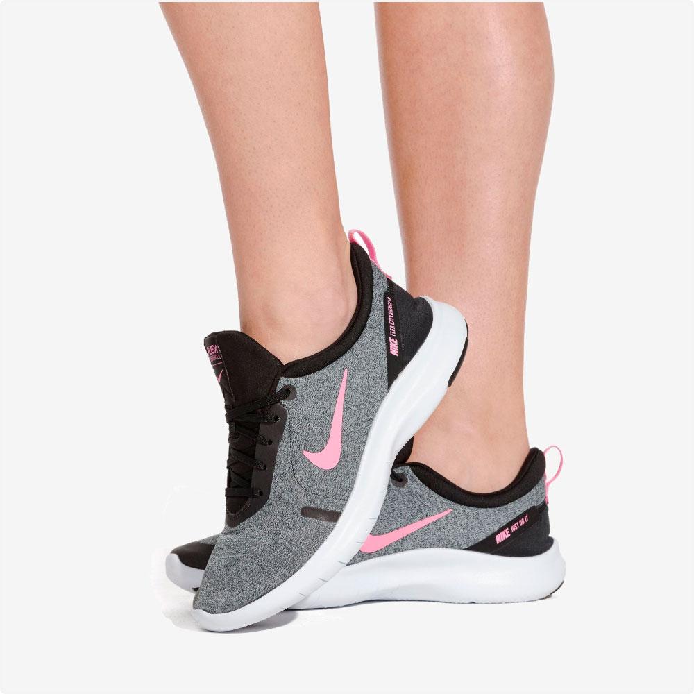 Tenis | Nike® WMNS Flex Experience RN 8 Gris- rosa