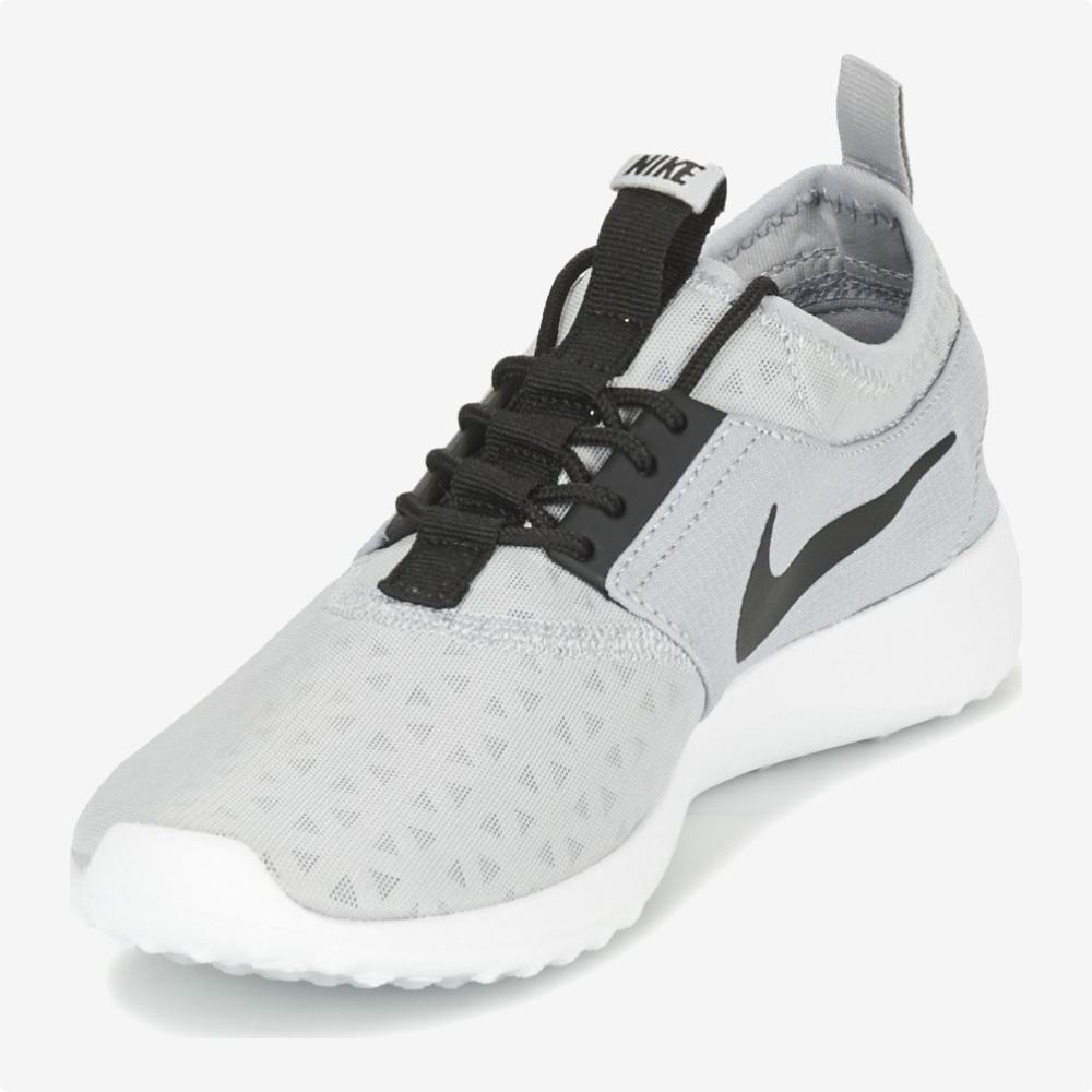Tenis   Nike® WMNS Juvenate Gris- logo Negro