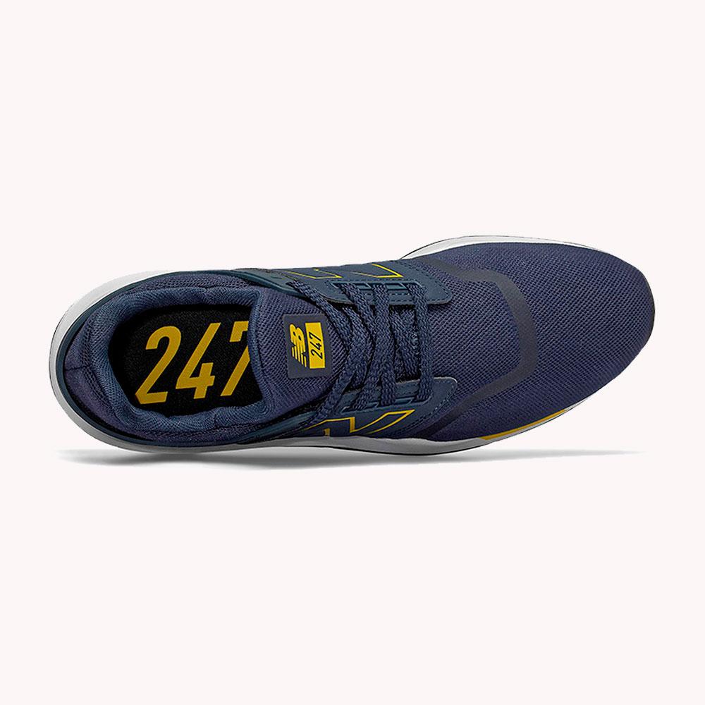 New Balance® Classic 247 Azul - amarillo