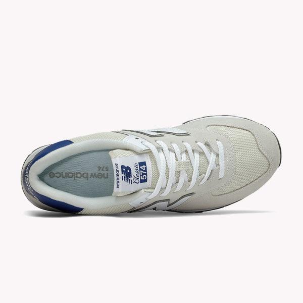 New Balance® Classics Tradionnels 574 Beige-azul