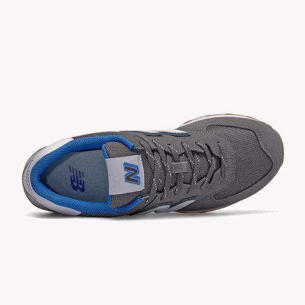 New Balance® Classics Tradionnels 574 Gris-azul- blanco