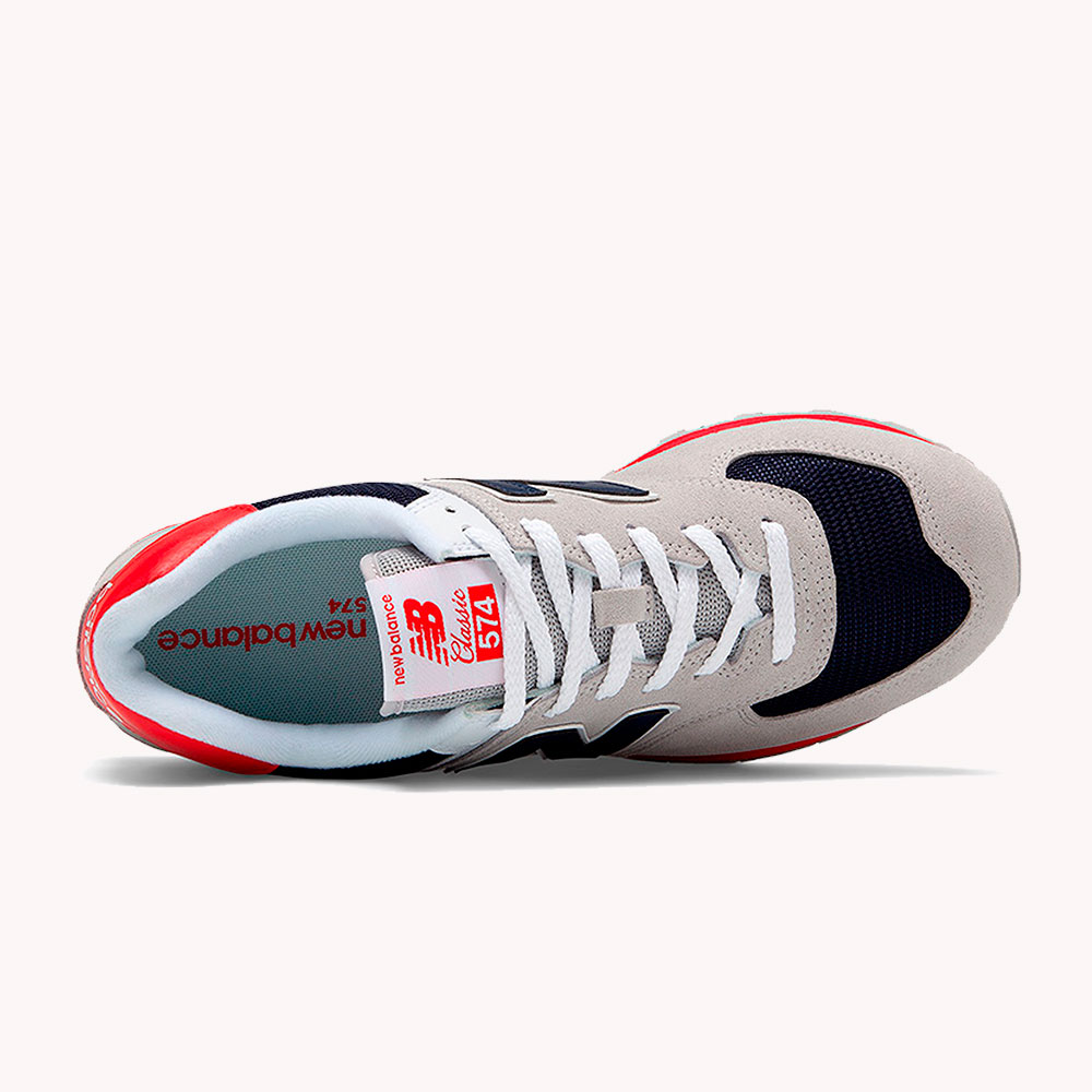 New Balance® Classics Tradionnels 574 Gris-azul. rojo