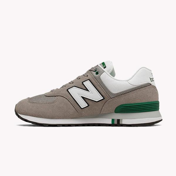 New Balance® Classics Tradionnels 574 Marron-blanco. verde