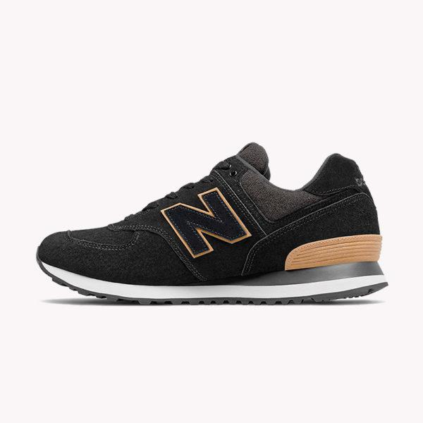 New Balance® Classics Tradionnels 574 Negro-beige