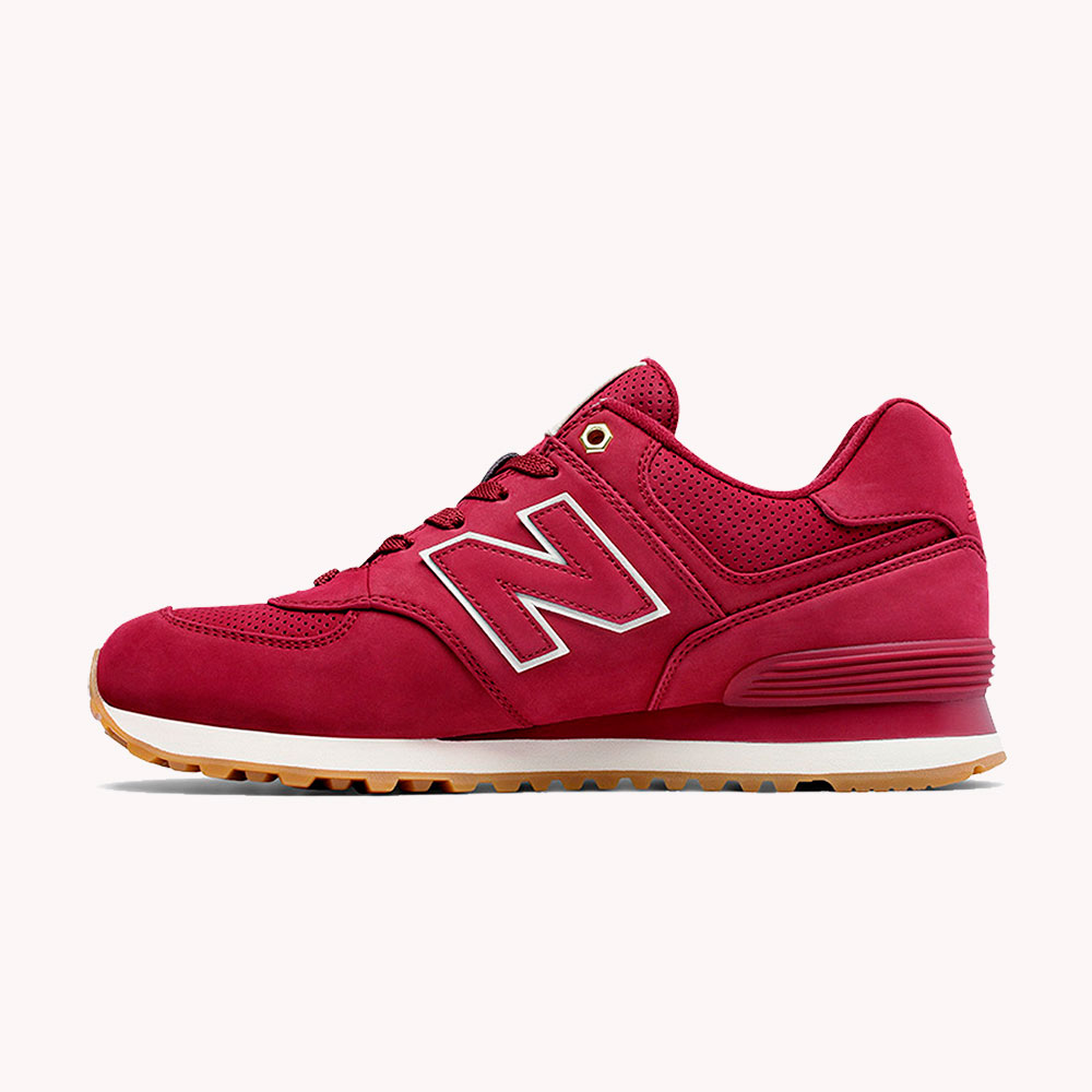 New Balance® Classics Tradionnels 574 Rojo-cereza