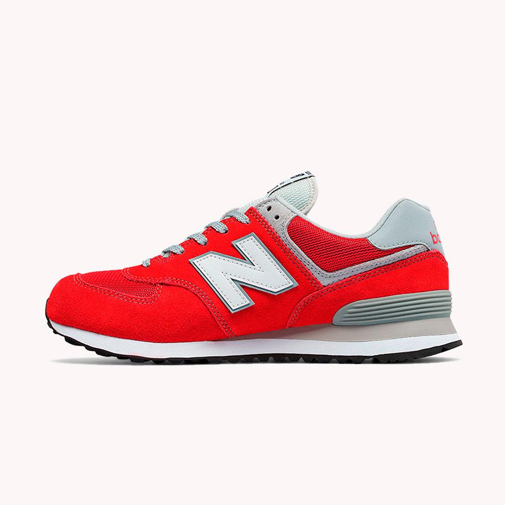 New Balance® Classics Tradionnels 574 Rojo fresa-gris