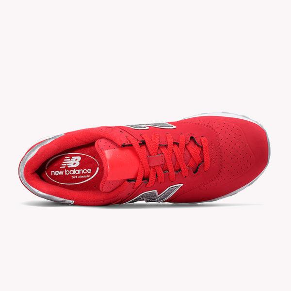 New Balance® Classics Tradionnels 574 Rojo-gris