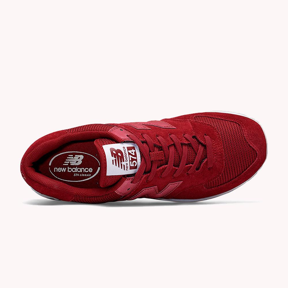 New Balance® Classics Tradionnels 574 Rojo oscuro-blanco