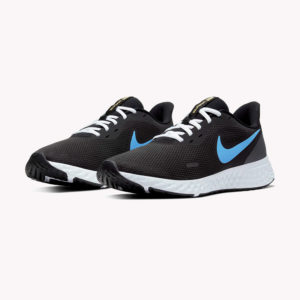 Tenis | Nike® Revolution 5 Negro- azul