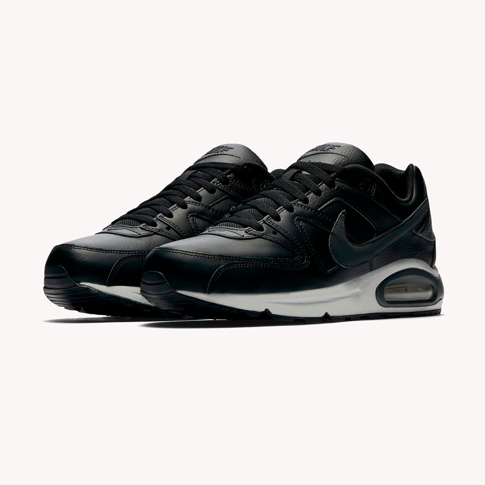 Tenis Nike Air Max Command Leather Black
