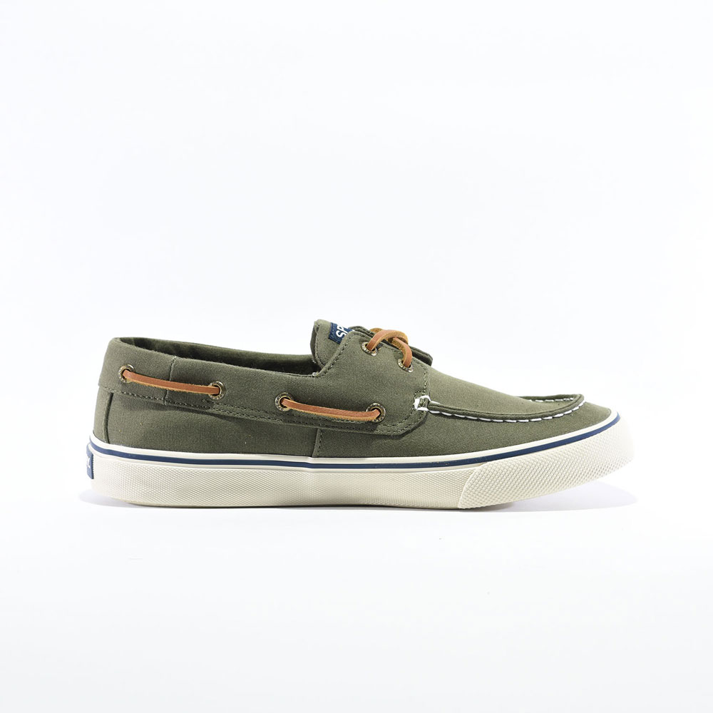 Tenis Casuales   Sperry® Bahama II BTS Olive