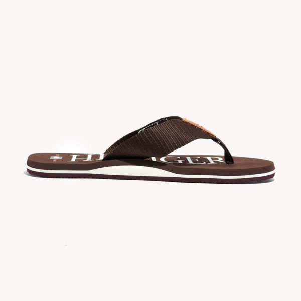 Sandalias | Tommy Hilfiger® Big Hilfiger Flip Flop Cocoa