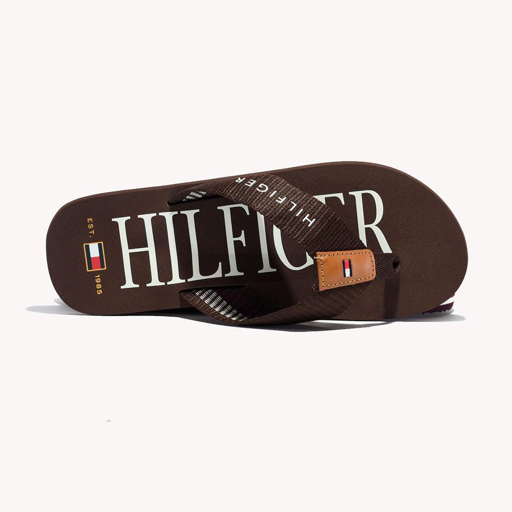 Sandalias   Tommy Hilfiger® Big Hilfiger Flip Flop Cocoa