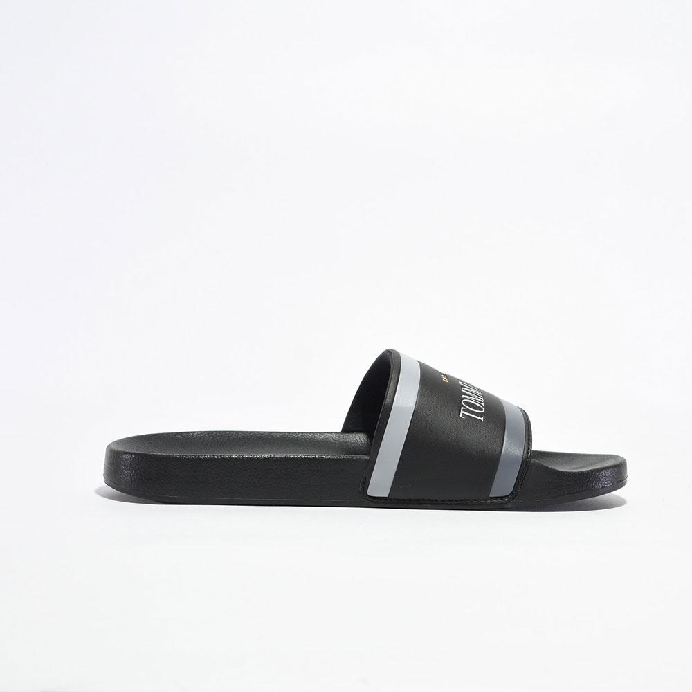 Sandalias | Tommy Hilfiger® Corporate TH Poolslide Black