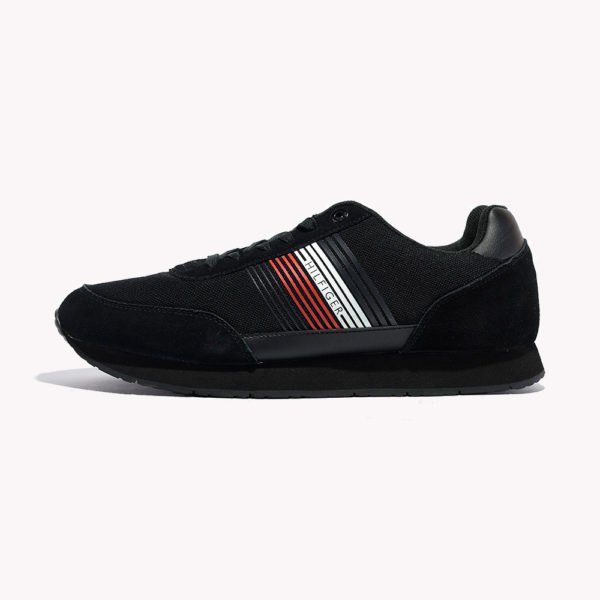 Tenis | Tommy Hilfiger® Corporate Material Mix Runner Black