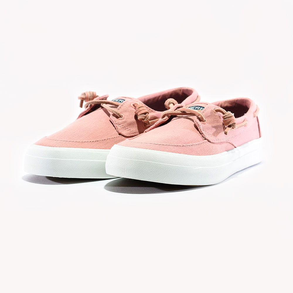 Tenis Casuales Sperry Crest Boat Twill Rose