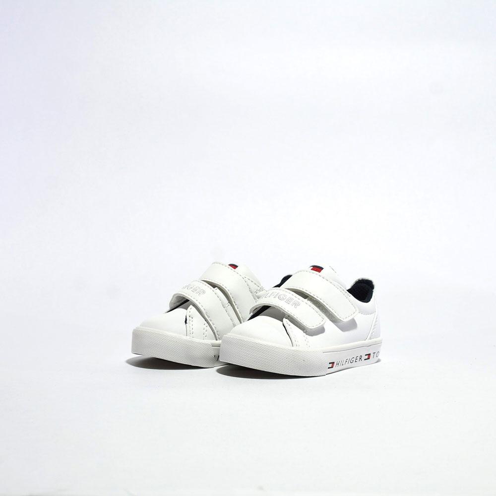 Tenis Tommy Hilfiger® Kids TH Herritage Logo Alt White