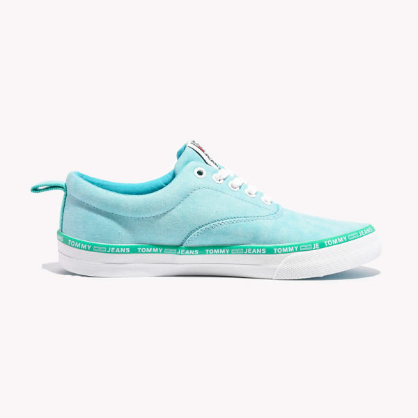 Tenis | Tommy Hilfiger® Pastel Color Lace Up Sneaker Blue