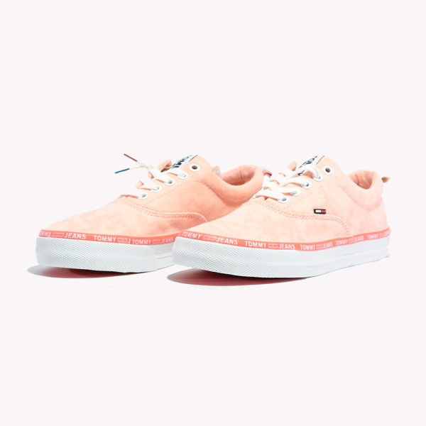 Tenis | Tommy Hilfiger® Pastel Color Lace Up Sneaker Peach