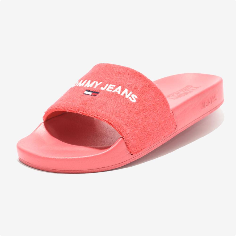 Sandalia Tommy Jeans Pool Slide Deep Crimson