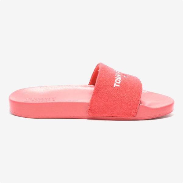 Sandalias   Tommy Hilfiger® Tommy Jeans Pool Slide Deep Crimson