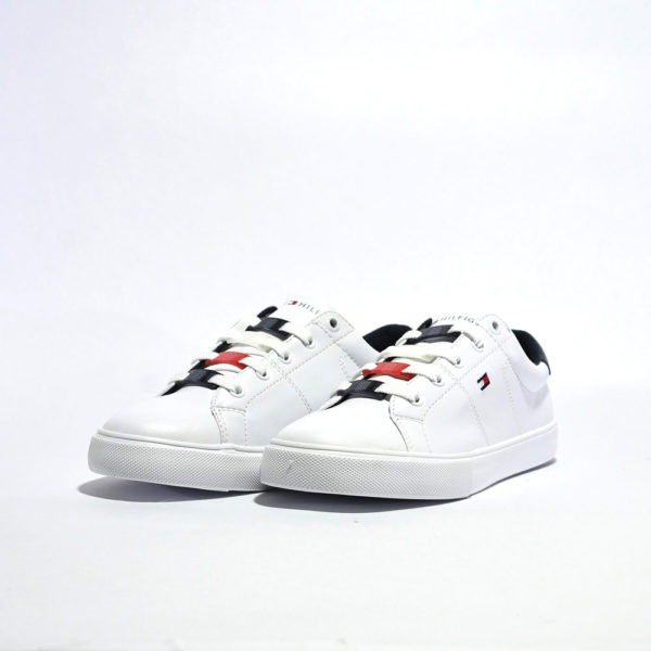 Tenis Tommy Hilfiger® RWB Lace Keeper Sneakers White