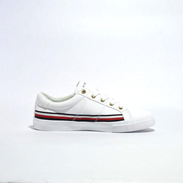 Tenis | Tommy Hilfiger® WMNS RWB Tape Around Sneaker White