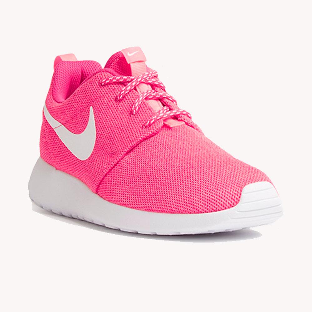 Tenis Nike WMNS Roshe One Pink/White