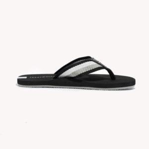 Sandalias   Tommy Hilfiger® TH Stripe Flip Flop Black
