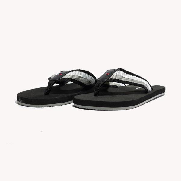 Sandalias | Tommy Hilfiger® TH Stripe Flip Flop Black