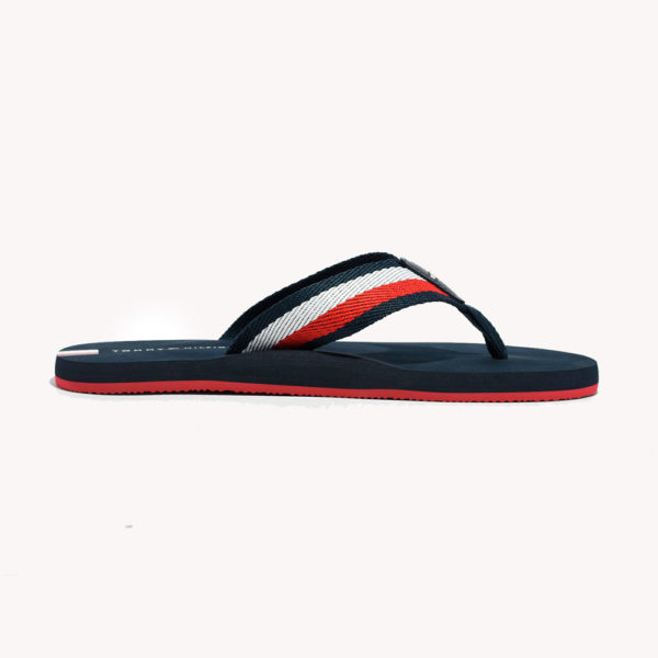 Sandalias | Tommy Hilfiger® TH Stripe Flip Flop Desert Sky