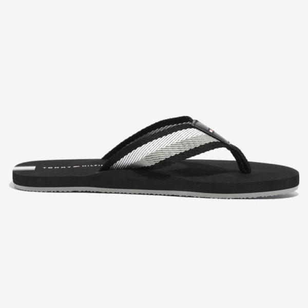 Sandalias   Tommy Hilfiger® TH Striper Flip Flop Black