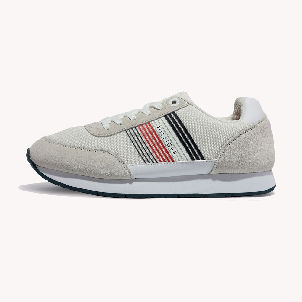 Tenis | Tommy Hilfiger® Corporate Material Mix Runner White