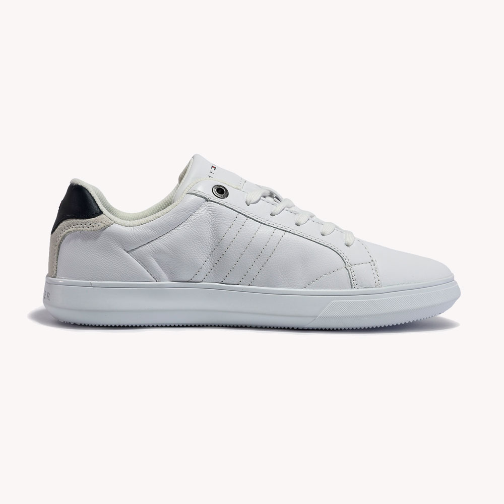 Tenis | Tommy Hilfiger Essential Leather Cupsole White