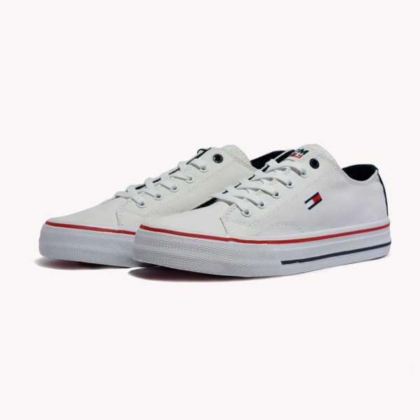 Tenis | Tommy Hilfiger Long Lace Up Vulc White