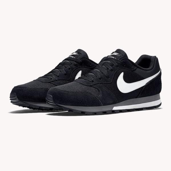 Tenis | Nike® MD Runner 2 Negro/Blanco