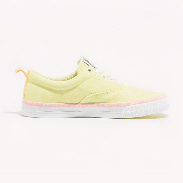 Tenis | Tommy Hilfiger Pastel Color Lace Up Lemon Chiffon