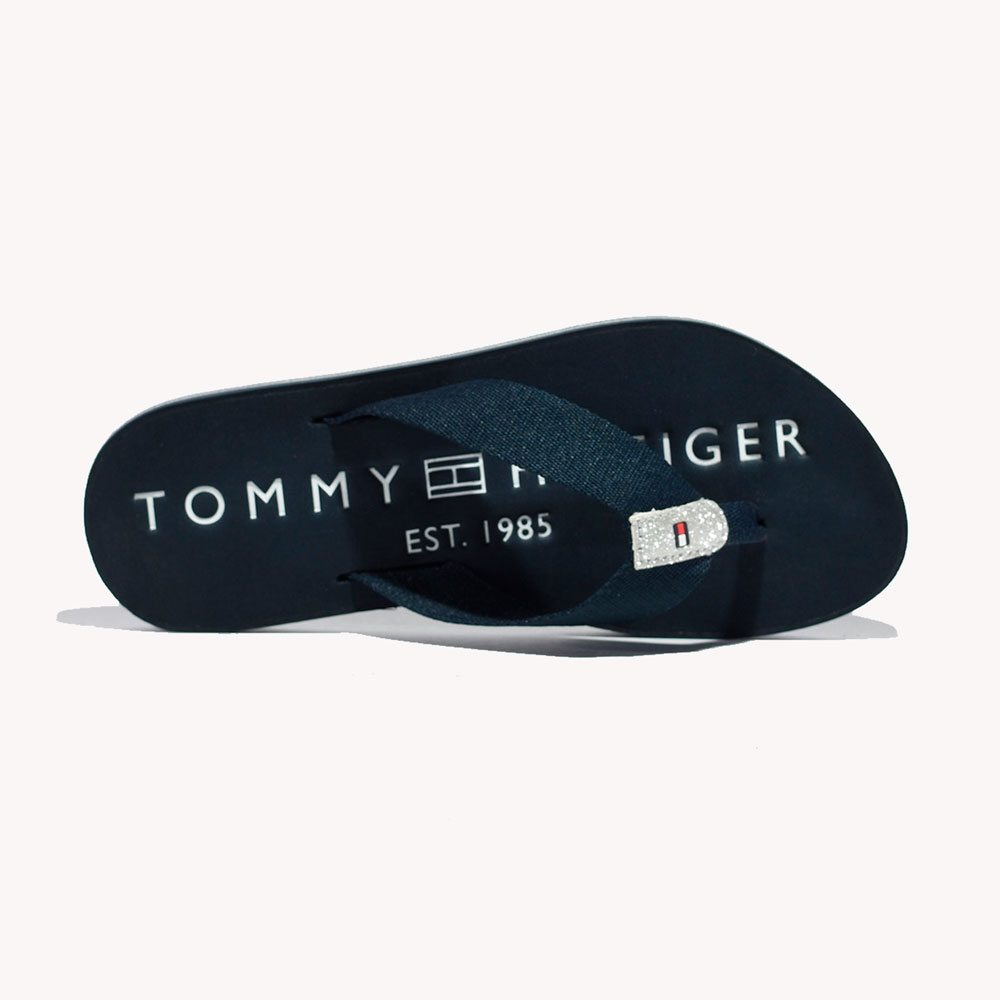 Chanclas | Tommy Hilfiger® TH Glitter Flat Desert Sky